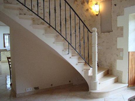 Escalier rennes conception et pose avec galoger for Escalier en terre